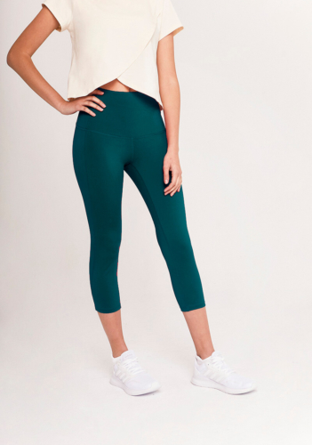 Tirunesh 7/8 Recycled Leggings in green