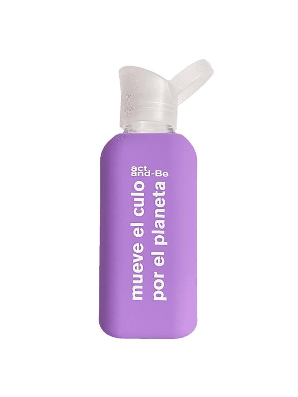 Botella Reutilizable Lila Nuoc