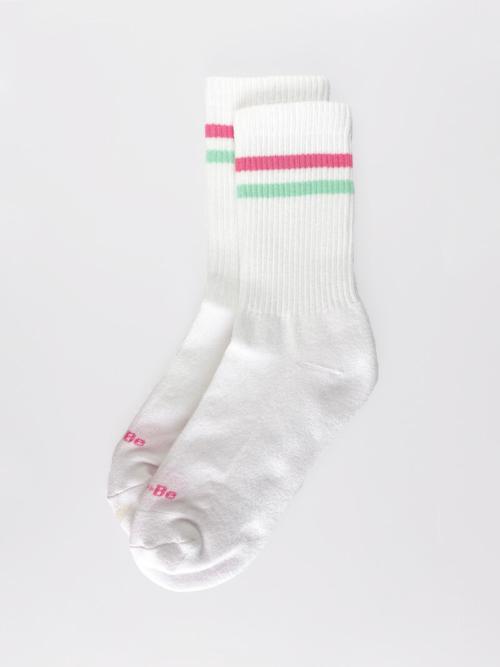 Calcetines deportivos orgánicos Classic blanco