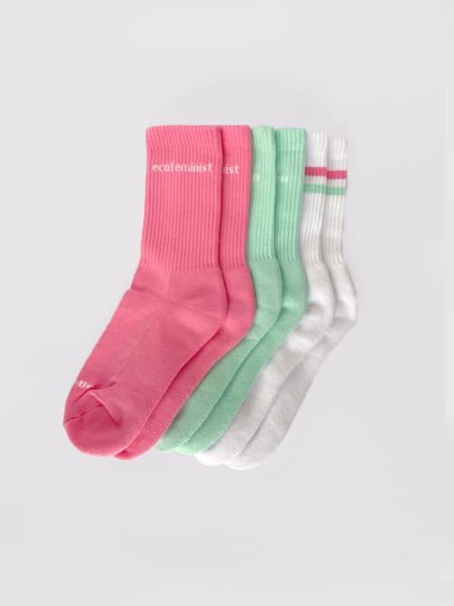 3 Pack of Organic Sports Socks