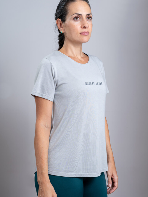 Nature Lover Bamboo T-shirt is made in Spain
